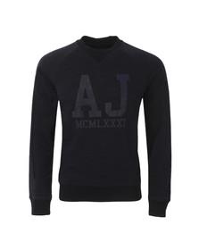 Armani Jeans Mens Blue C6M07 Sweatshirt