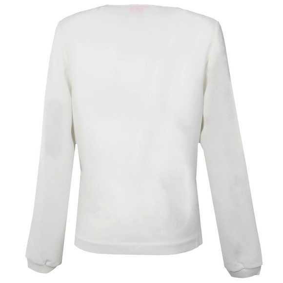 Ted Baker Womens Off-white Sazzie Zip Front Top main image