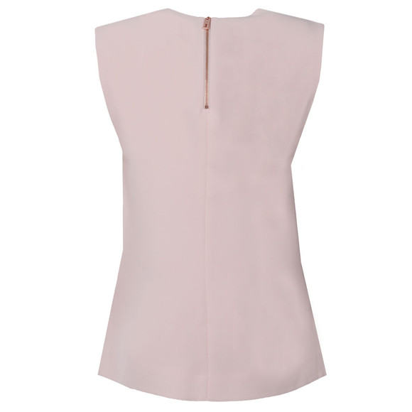 Ted Baker Womens Pink Dexi Shoulder Tuck Sleeveless Top main image