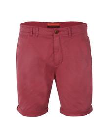 Scotch & Soda Mens Pink Twill Chino Shorts