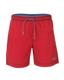 Napapijri Mens Red Villa Solid Swim Short