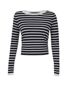 French Connection Womens Multicoloured Cass Knit Jumper