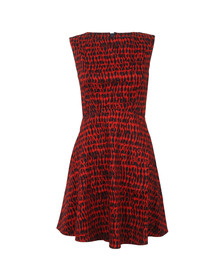 French Connection Womens Red Canyon Sands Dress