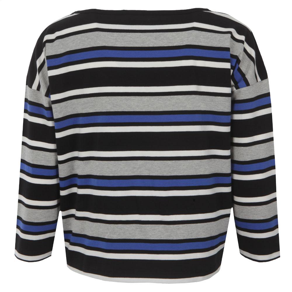 Suo Stripe Long Sleeve Top main image