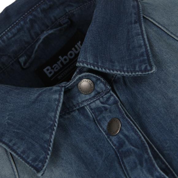 Barbour International Womens Blue Broton Shirt main image