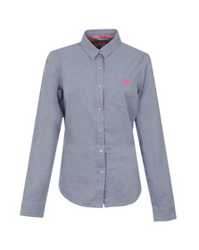 Superdry Womens Blue Oxford Shirt