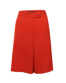 French Connection Womens Red Freya Jersey Culotte