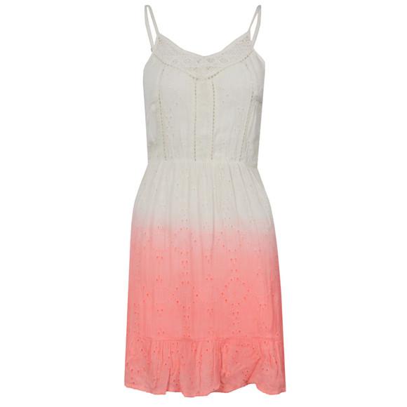 Superdry Womens Pink Dip Dye Schiffli Chelsea Dress main image