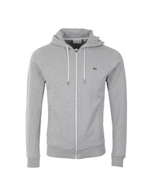 Lacoste Mens Grey SH5412 Full Zip Sweat