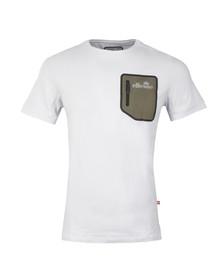 Ellesse Mens White Ostuni T Shirt