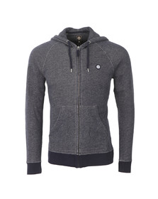 Pretty Green Mens Blue Oxted Hoody