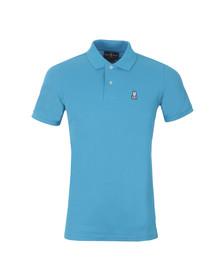 Psycho Bunny Mens Blue Classic Polo Shirt