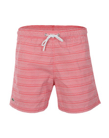 Lacoste Mens Red Swim Shorts MH7277