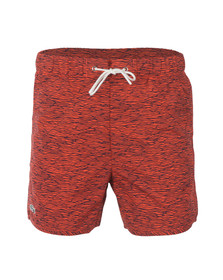 Lacoste Live Mens Red Swim Shorts MH5155