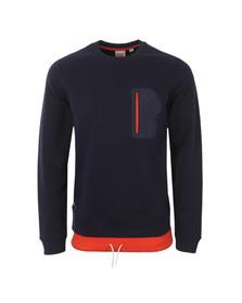 Lacoste Live Mens Blue SH5369 Sweatshirt