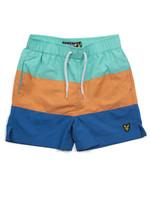 Cut & Sew Swim Shorts