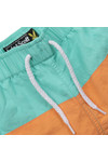 Lyle And Scott Junior Boys Green Cut & Sew Swim Shorts