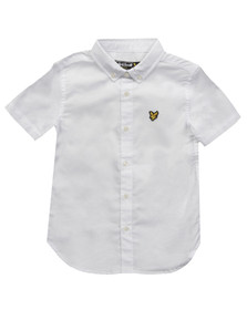 Lyle And Scott Junior Boys White Oxford Shirt