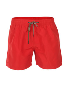 Paul Smith Jeans Mens Red Classic Swim Short