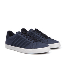 K Swiss Mens Blue Belmont Canvas Trainer