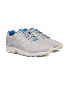 Adidas Originals Mens Grey ZX Flux Trainer