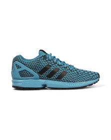 Adidas Originals Mens Blue ZX Flux Techfit Trainer
