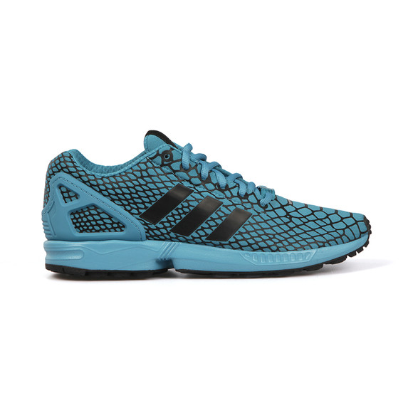 Adidas Originals Mens Blue ZX Flux Techfit Trainer  main image