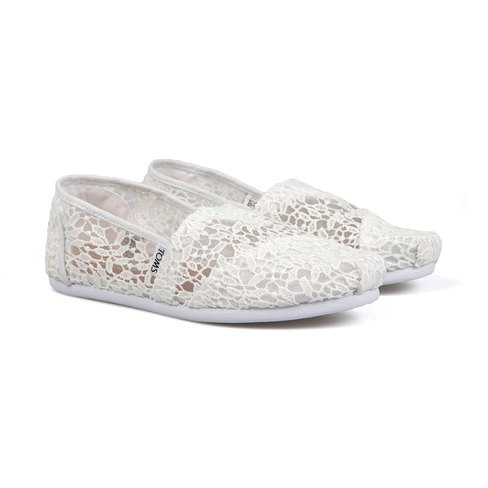 Lace Leaves Espadrille main image