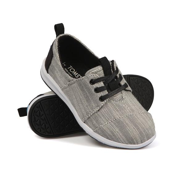 Toms Boys Grey Del Rey Sneaker main image