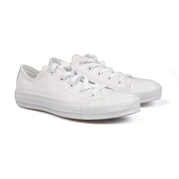 Converse Womens White All Star Leather Ox main image