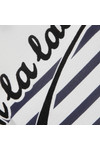 Maison Scotch Womens Off-white Long Sleeve French T Shirt