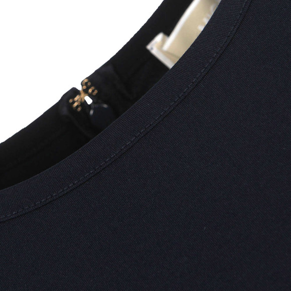 Michael Kors Womens Blue Pleat Hem Dress main image