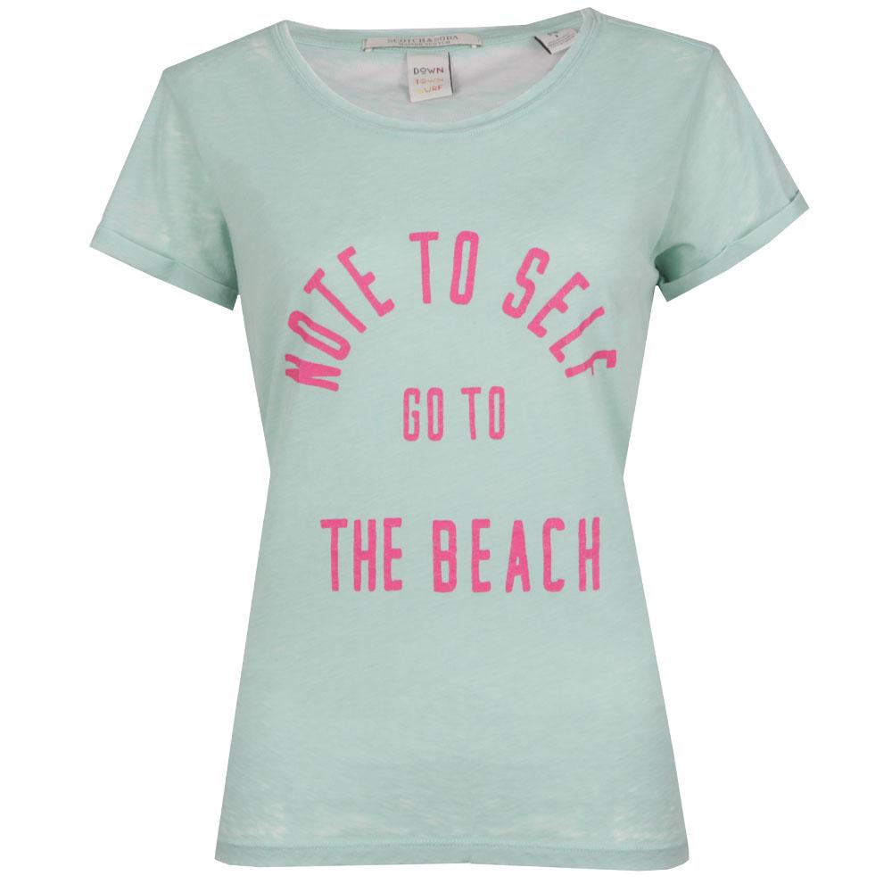 Beach Burn Out T Shirt main image