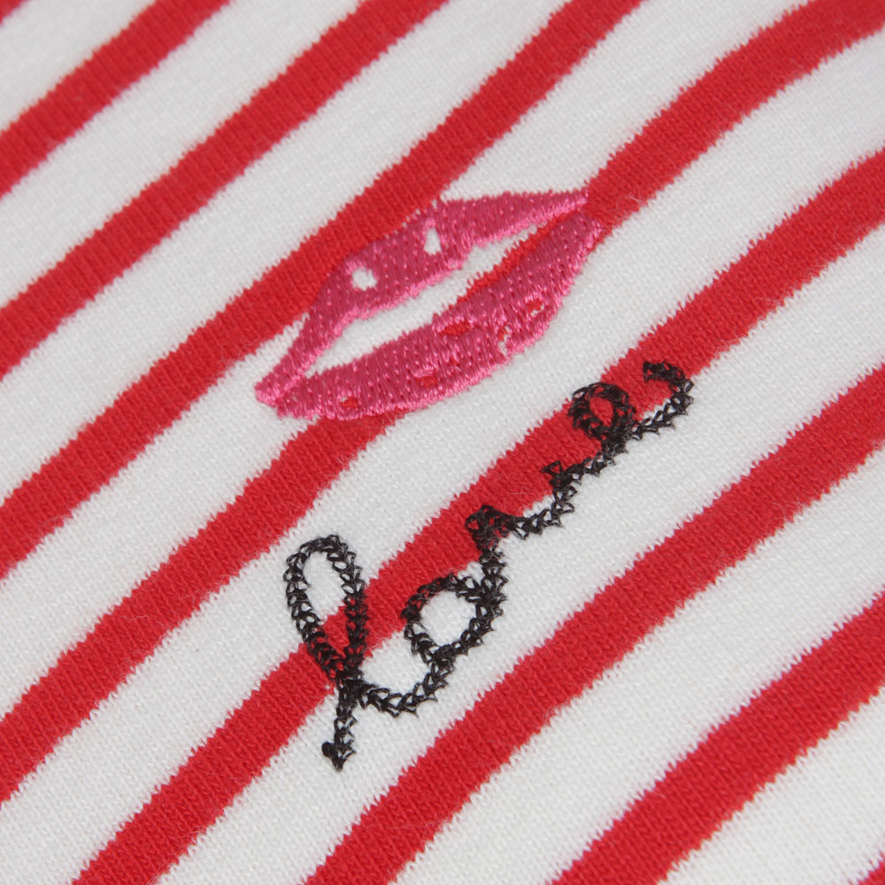 Long Sleeve Stripe Sweat main image