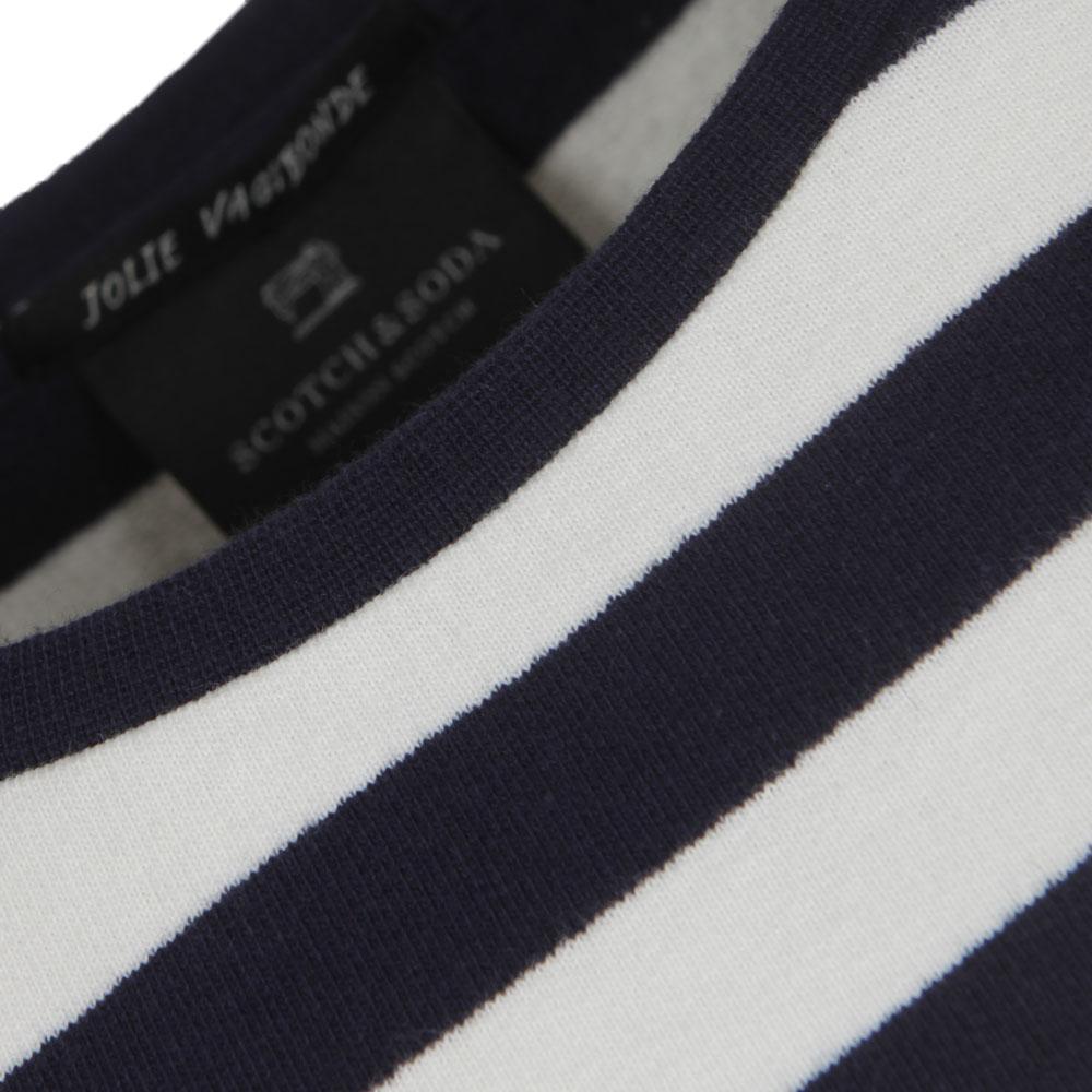 Long Sleeve Stripe Sweat main image