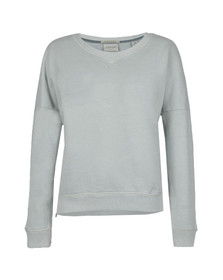 Maison Scotch Womens Green Soft Sweatshirt
