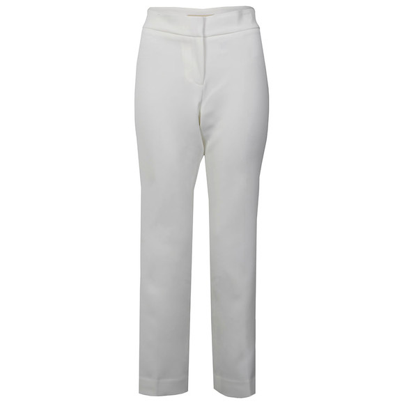 Michael Kors Womens White Cropped Flare main image