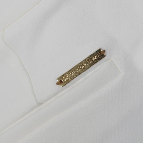 Michael Kors Womens White Cropped Flare main image