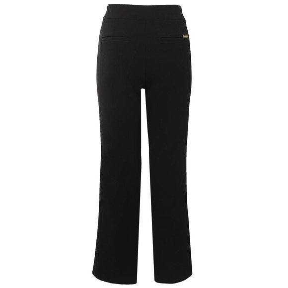 Michael Kors Womens Black Cropped Flare main image