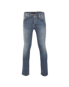 Nudie Jeans Mens Blue Grim Tim Jeans