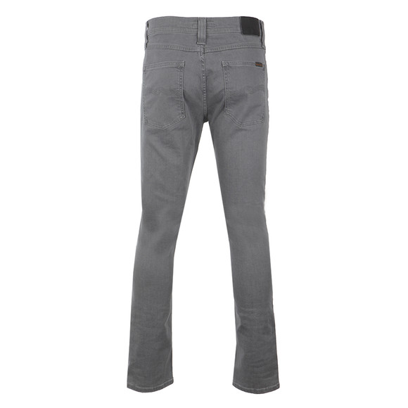Nudie Jeans Mens Grey Lean Dean Jean main image