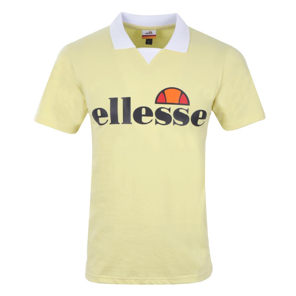 3aecec1ddf Mens Yellow Sarzana Jersey Polo Shirt