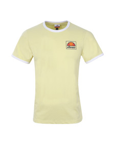 Ellesse Mens Yellow Montefello Ringer T Shirt