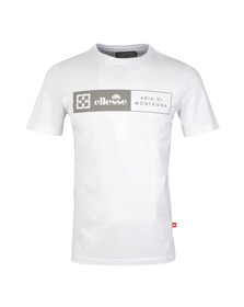 Ellesse Mens White Rasulo T Shirt