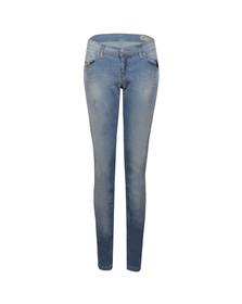 Diesel Womens Blue Diesel Grupee Skinny Jean
