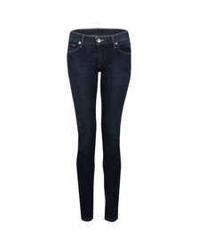 True Religion Womens Blue Stella Skinny Jean