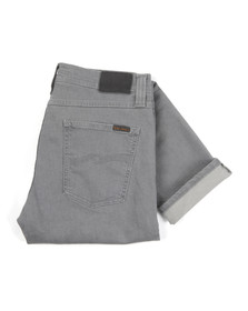 Nudie Jeans Mens Grey Lean Dean Jean