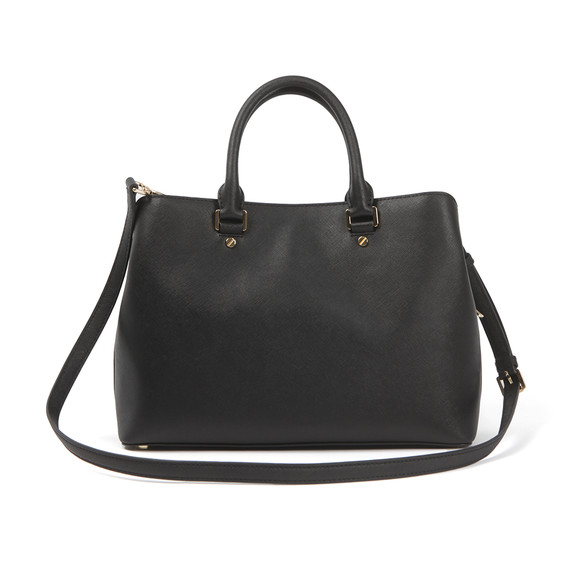 Michael Kors Womens Black Savannah Large Satchel main image