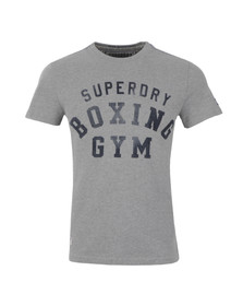 Superdry Mens Grey S/S Boxing T-Shirt
