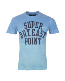 Superdry Mens Blue S/S Laguna T-Shirt